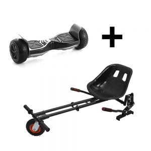 *Bundle* – 8.5inch All Terrain Hummerboard + Monster Suspension Kart