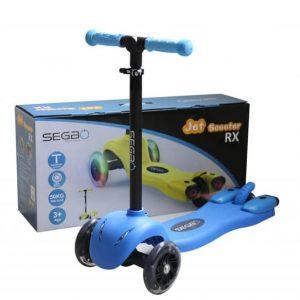 Kids Jet Spray LED Scooter – Blue