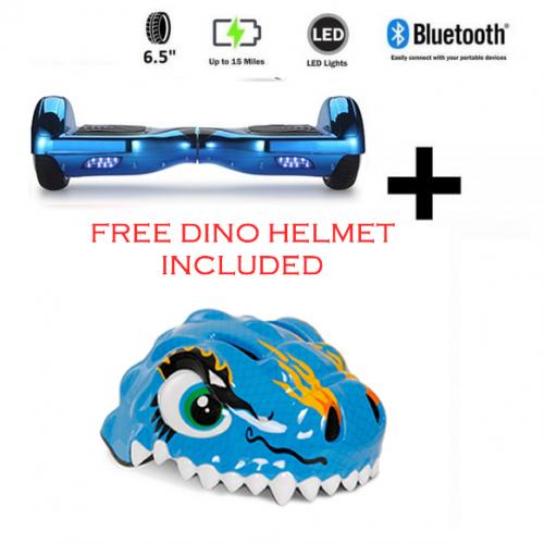 The Gadget ShowFREE Dino Helmet + Blue Chrome Bundle Deal!