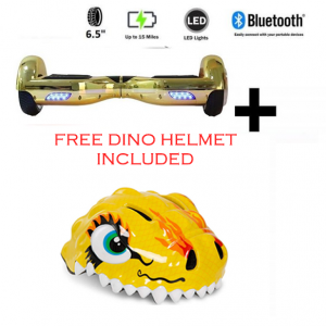 The Gadget Show FREE Dino Helmet + Gold Chrome Bundle Deal!