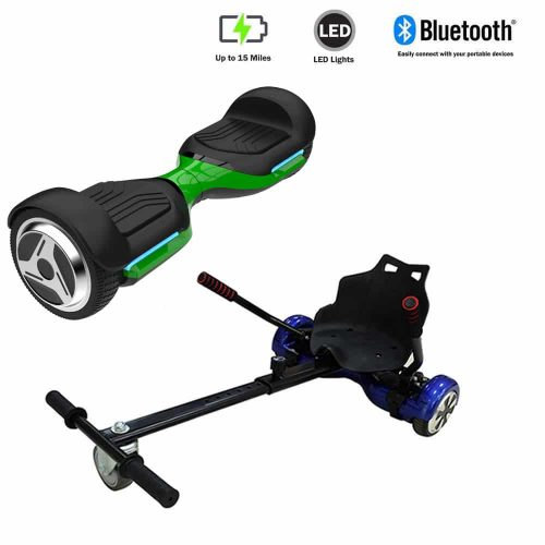 NEW – Segbo 6.5 G PRO Green Hoverboard & get A FREE Segbo Racer Hoverkart Bundle Deal !