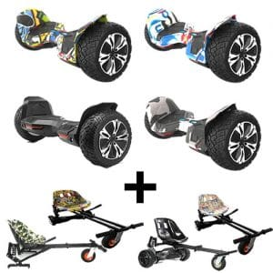 NEW – Segbo 8.5 G2 PRO Hoverboard & get A FREE Segbo Monster Hoverkart Bundle Deal !