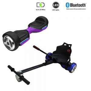 NEW – Segbo 6.5 G PRO Purple Hoverboard & get A FREE Segbo Racer Hoverkart Bundle Deal !