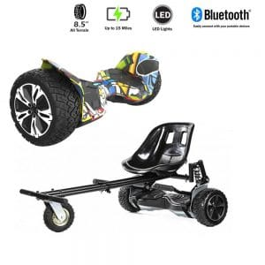 NEW – Segbo 8.5 G2 PRO Hip Hop Hoverboard & get A FREE Segbo Monster Hoverkart Bundle Deal