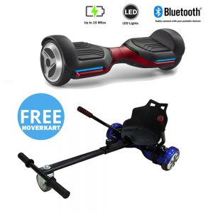 NEW – Segbo 6.5 G PRO Red Hoverboard & get A FREE Segbo Racer Hoverkart Bundle Deal !