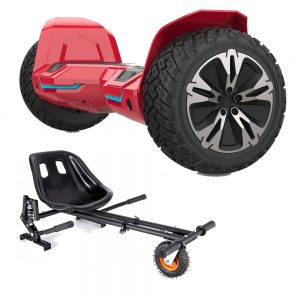 NEW – Segbo 8.5 G2 PRO Red Hoverboard & get A FREE Segbo Monster Hoverkart Bundle Deal