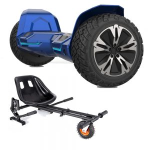 NEW – Segbo 8.5 G2 PRO Blue Hoverboard & get A FREE Segbo Monster Hoverkart Bundle Deal